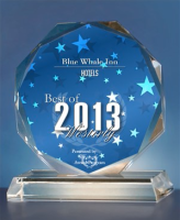 BLUE WHALE INN awarded Best of Westerly 2013 - Hotels presented by the Westerly Awards Program.